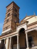 Terracina in Italy. Terracina Cathedral Cattedrale dei SS. Pietro e Cesareo. Region Lazio, Italy Stock Image