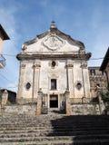 Terracina in Italy. The church of Purgatory in Terracina high or ancient. Region Lazio, Italy Stock Photos
