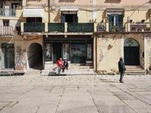Terracina in Italy. Detail of Terracina high or ancient. Region Lazio, Italy Stock Photography