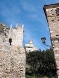 Terracina in Italy. Frangipane castle in Terracina high or ancient. Region Lazio, Italy Stock Photography