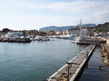 Terracina in Italy. Port of Terracina. Lazio Region, Italy Royalty Free Stock Photography
