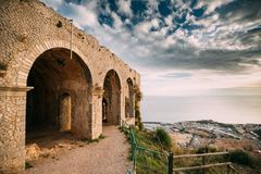 Free Terracina, Italy. Temple Of Jupiter Anxur Stock Images - 139211514