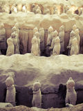 Terracota army, Xi'an, China Stock Photography