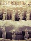 Terracota army, Xi'an, China Stock Photography