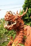 Terracota del dragón Foto de archivo libre de regalías