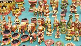 Terracota hermosa Art Pieces y estatuilla Imagenes de archivo