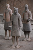 Terracota-Krieger stockfoto