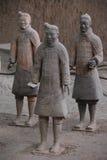 Terracota krigare arkivfoto