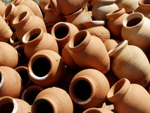 Terracota pots Stock Photos
