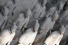 Terracota soldiers Stock Photos