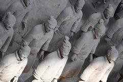 Terracota soldiers. Terracota army, Xi'an, China Stock Photos