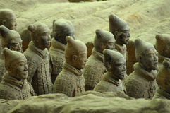 Terracota wariors Royalty Free Stock Photos