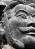 Terracota warrior. Picture of a terracotta warion from the xian dynasty stock images