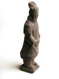 Terracota warrior statue. Ancient terracota warrior statue replica Stock Photo