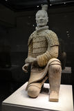 Terracota Warrior. The Terracotta Army is a collection of terracotta sculptures depicting the armies of Qin Shi Huang, the first Emperor of China Stock Image