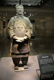 Terracota Warrior. The Terracotta Army is a collection of terracotta sculptures depicting the armies of Qin Shi Huang, the first Emperor of China Royalty Free Stock Photos