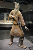 Terracota Warrior. The Terracotta Army is a collection of terracotta sculptures depicting the armies of Qin Shi Huang, the first Emperor of China Stock Photography