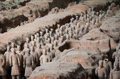 terracotta армии Стоковая Фотография