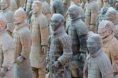 terracotta армии стоковое изображение rf