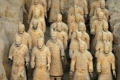 terracotta фарфора армии Стоковые Изображения