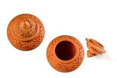Terracotta Royalty-vrije Stock Foto's