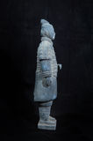Terracotta army. Figure in china stock photography