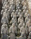 Terracotta Army. In xi'an china Stock Photos