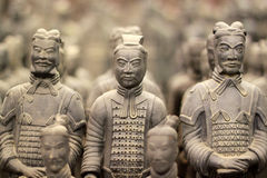 Terracotta army. The UNESCO heritage site of XIAN, terracotta army warriors