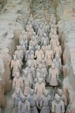 Terracotta Army. In Xian, China Stock Photos