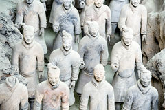 Chinese Terracotta Army Royalty Free Stock Photos