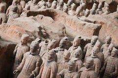Terracotta army #3 Stock Photography