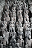 Terracotta Army. Terracotta Warriors in Xi'an (Eastern China Stock Photo