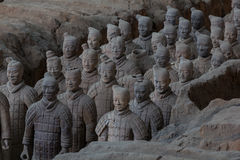 Terracotta Army, China. Terracotta warriors of XiAn, Qin Shi Huang's Tomb, China Royalty Free Stock Photos