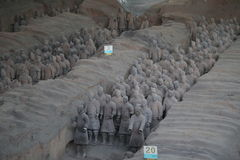 The Terracotta Army Royalty Free Stock Photography