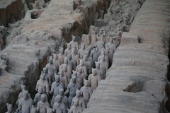 The Terracotta Army Stock Images