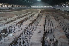 The Terracotta Army Royalty Free Stock Photos