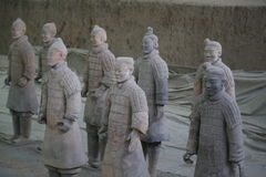 The Terracotta Army Royalty Free Stock Images