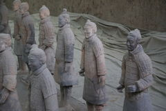 The Terracotta Army Royalty Free Stock Image