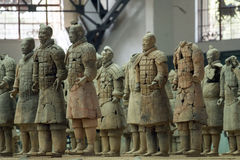 The Terracotta army Royalty Free Stock Photo