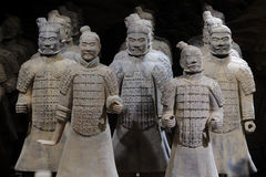 Terracotta army Royalty Free Stock Photo