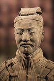 Terracotta Army exhibit at the Shaanxi History Museum. Xian. Chi Royalty Free Stock Photo