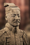 Terracotta Army exhibit at the Shaanxi History Museum. Xian. Chi Stock Photography