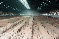 Terracotta army hangar Stock Photography