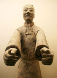 A Terracotta Army Officer Stock Photo