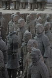 Terracotta Army Warriors Royalty Free Stock Photo