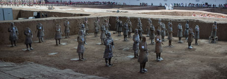 Terracotta Army Royalty Free Stock Images