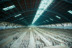 Terracotta Army,xi an,china Royalty Free Stock Image