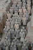 Terracotta army. Xi'An. Shaanxi province. China Stock Photography