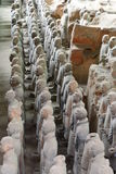 Terracotta army. Xi'An. Shaanxi province. China Stock Images