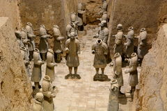 Terracotta army. Xi'An. Shaanxi province. China Stock Photo